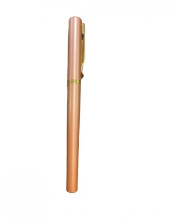 Stilou roz Vision 2841, penita ascunsa, dual, rezervor si patron [0]