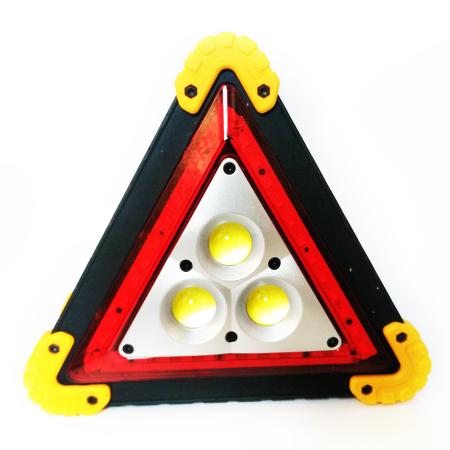 Triunghi reflectorizant Vision, lampa multifunctionala cu 3 faze LED de iluminare [0]