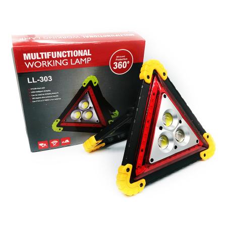 Triunghi reflectorizant Vision, lampa multifunctionala cu 3 faze LED de iluminare [3]