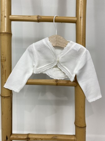 Pulover botez alb [0]