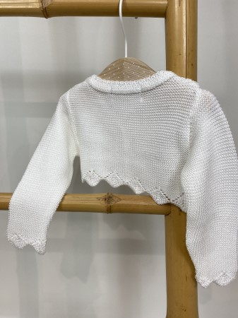 Pulover botez alb [2]