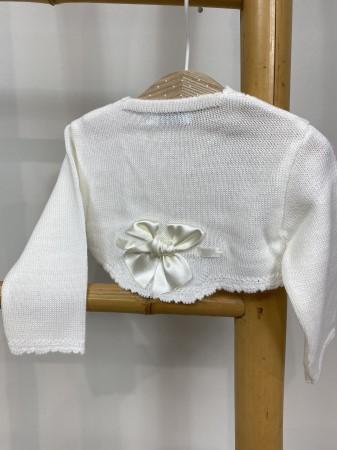 Pulover botez alb [1]