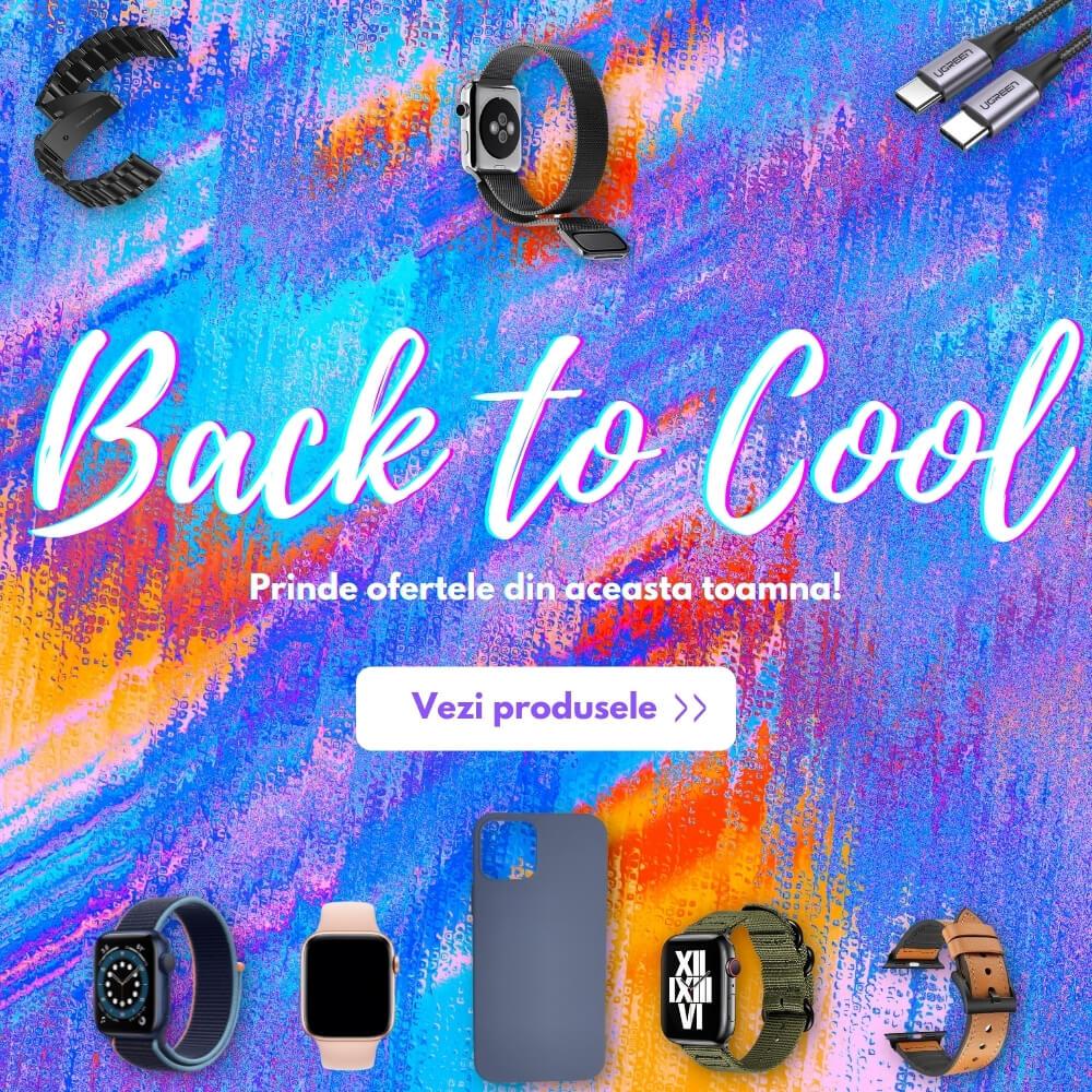 Back To Cool! Prinde cele mai mici preturi la accesorii de telefon, huse, folii de protectie, suporturi auto, incarcatoare auto, cabluri incarcare si multe altele, dor pe OLBO.ro!
