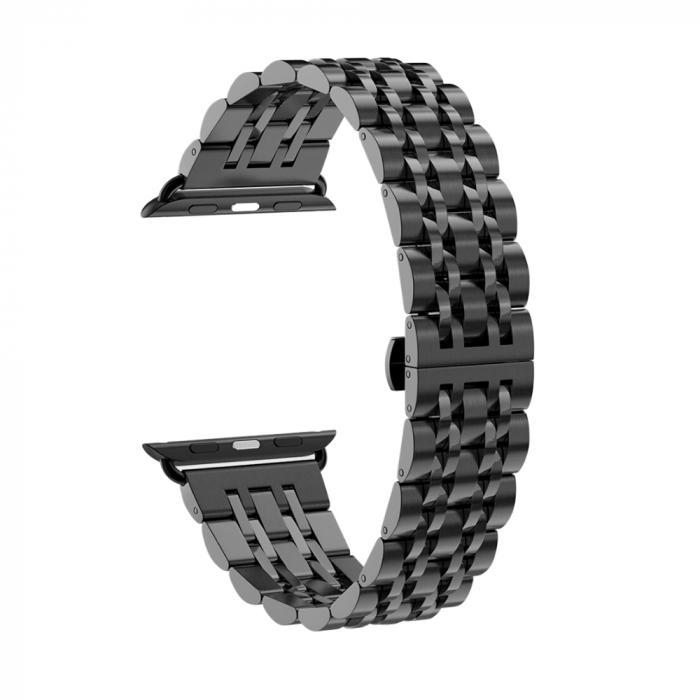 Bratara Metalica Apple Watch Business Black 38/40mm [0]