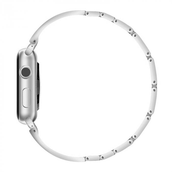 Bratara Apple Watch Luxury Stainless Steel Silver 38/40mm [2]
