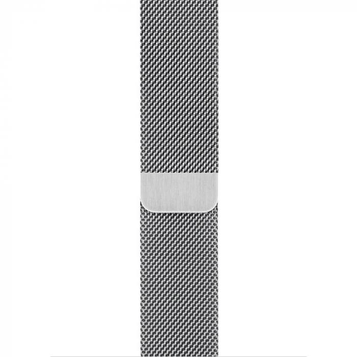 Bratara Curea Apple Watch Magnetica Metalica Milanese Loop argintie 38/40mm [9]