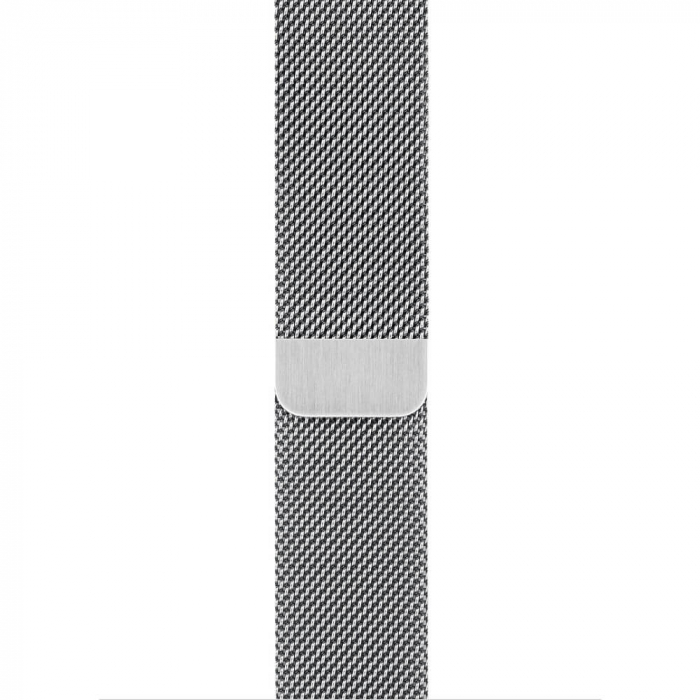 Bratara Curea Apple Watch Metalica Magnetica Milanese Loop argintie 42/44mm [9]