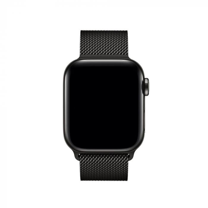 Bratara Apple Watch  Milanese Loop neagra  38/40 mm [2]