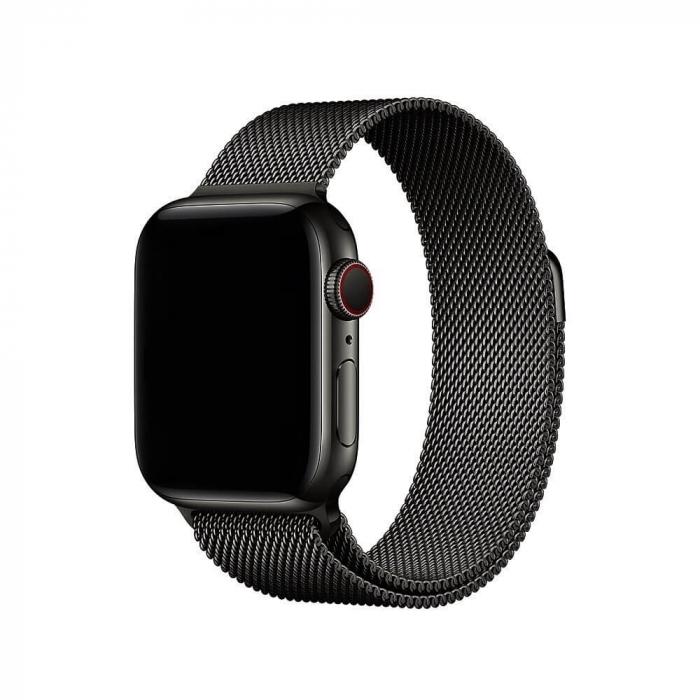 Bratara Apple Watch  Milanese Loop neagra  38/40 mm [1]