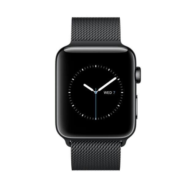 Bratara Curea Apple Watch Metalica Magnetica Milanese Loop neagra 42/44mm [5]