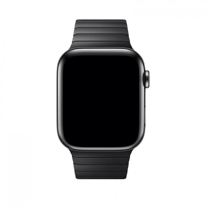 Bratara Apple Watch Metalica Neagra Space Black Link 42/44mm [2]