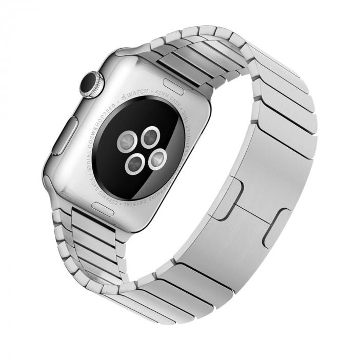Bratara Apple Watch Metalica Silver Link 42/44mm [8]