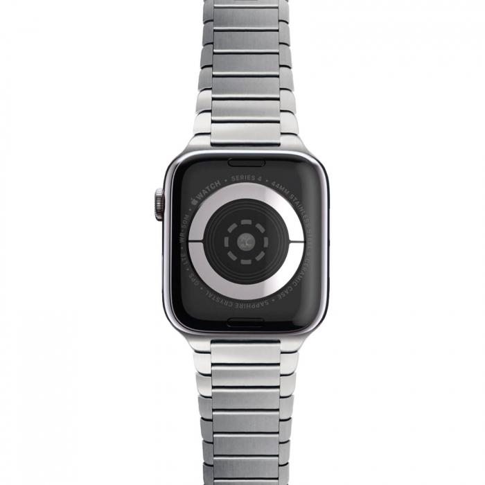 Bratara Apple Watch Metalica Silver Link 42/44mm [3]