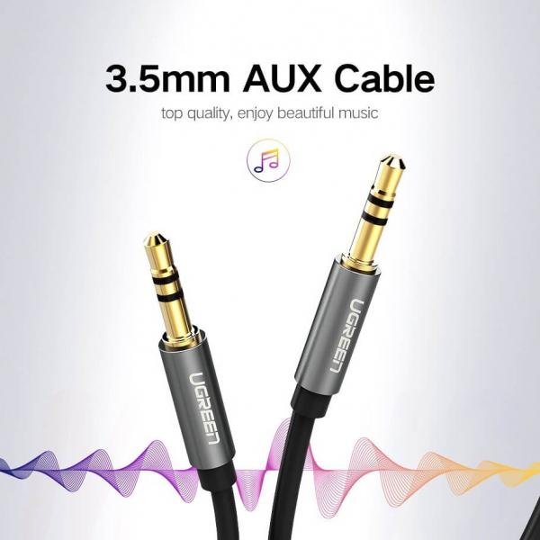 Cablu audio AUX Jack 3.5mm 2m [3]