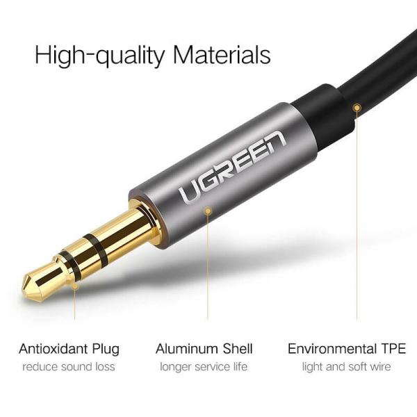 Cablu audio AUX Jack 3.5mm 2m [6]