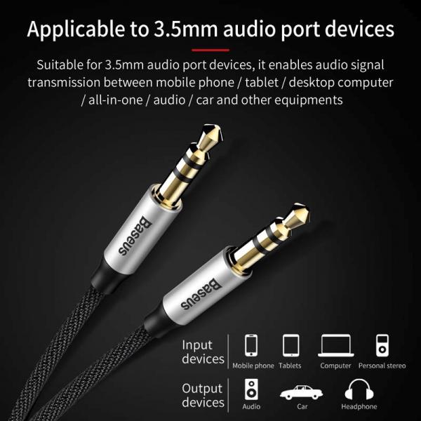 Cablu audio AUX Jack 3.5mm [1]