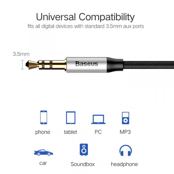 Cablu audio AUX Jack 3.5mm [2]