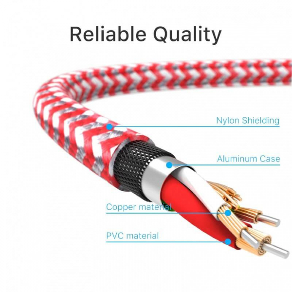 Cablu lightning 2.4A 3m [2]