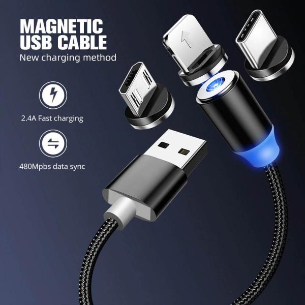 Cablu microUSB magnetic [12]