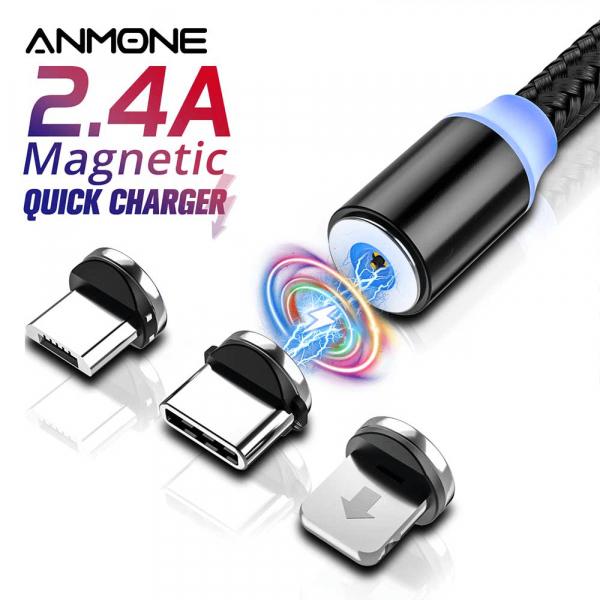 Cablu microUSB magnetic [1]