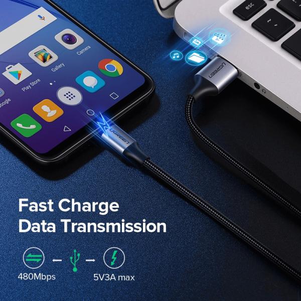 Cablu microUSB UGREEN [6]