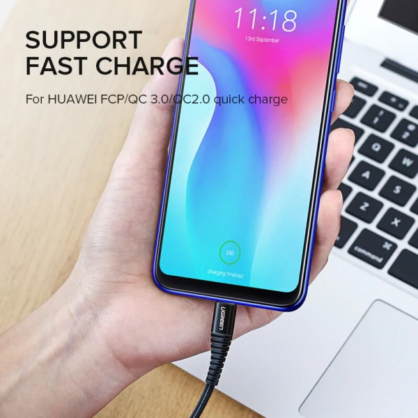 Cablu Type-C 3A Quick Charge [3]