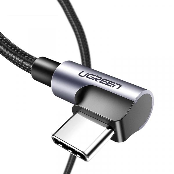 Cablu Type-C 3A 90° [0]