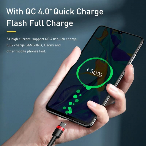 Cablu Type-C Quick Charge 4.0 PD 100W Baseus [3]