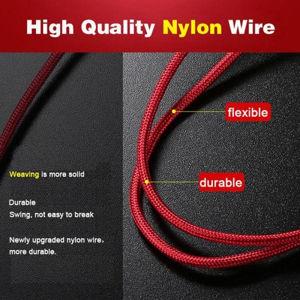 Cablu universal 3 in 1 rosu [4]