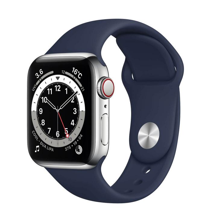 Curea Apple Watch Sport Albastra 42/44mm [3]