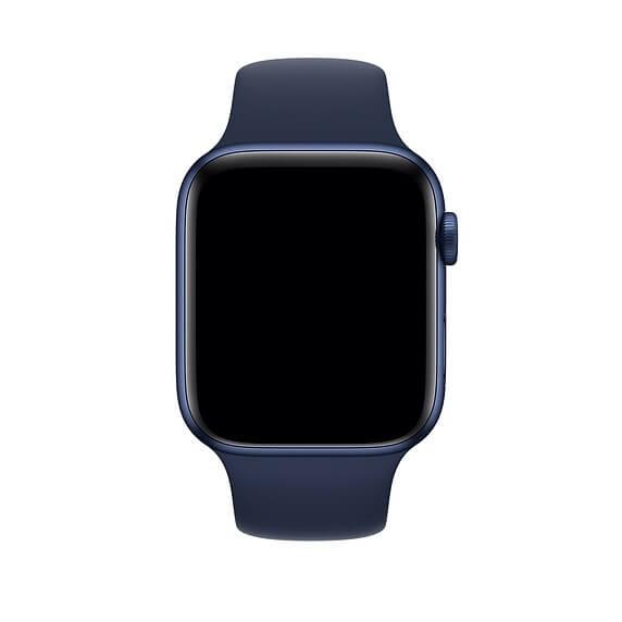 Curea Apple Watch Sport Albastra 42/44mm [2]