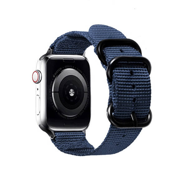 Curea Apple Watch nylon sport albastra 42/44mm [1]