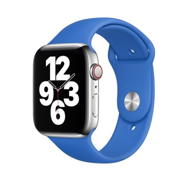 Curea Apple Watch Sport Albastru Cobalt 42/44mm [1]