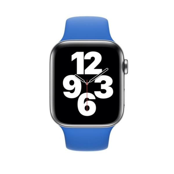 Curea Apple Watch Sport Albastru Cobalt 42/44mm [2]