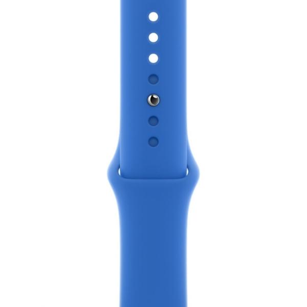 Curea Apple Watch Sport Albastru Cobalt 42/44mm [0]