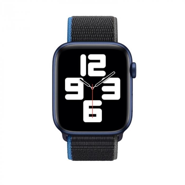 Curea Apple Watch Sport Loop Charcoal 42/44mm [2]