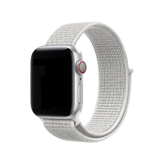 Curea Apple Watch Nylon Sport Loop Summit White 38/40mm [1]