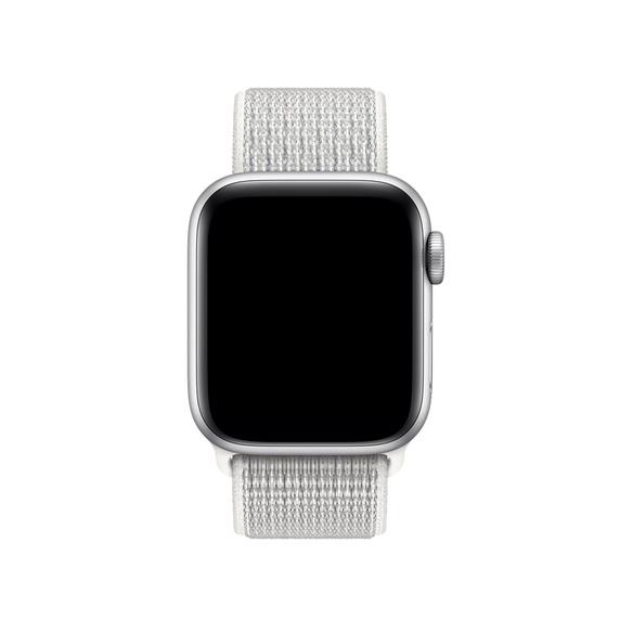 Curea Apple Watch Nylon Sport Loop Summit White 38/40mm [2]