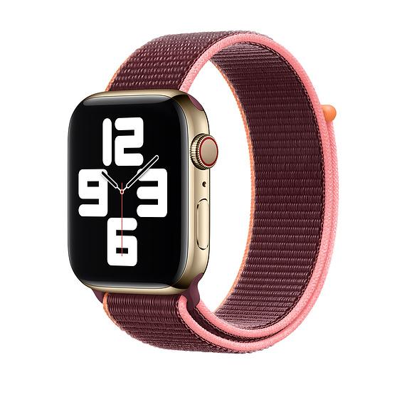 Curea Apple Watch Sport Loop Plum 38/40mm [1]