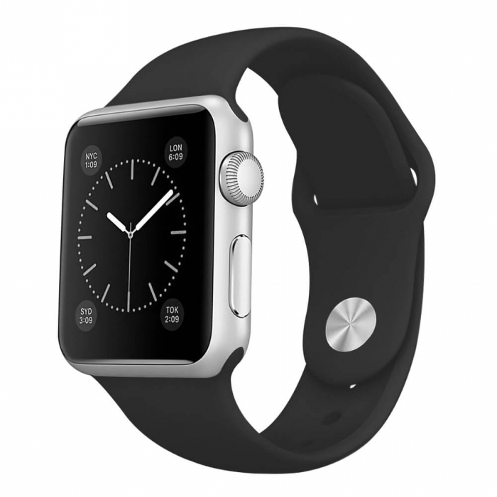 Curea Apple Watch Sport Neagra 42/44mm [4]