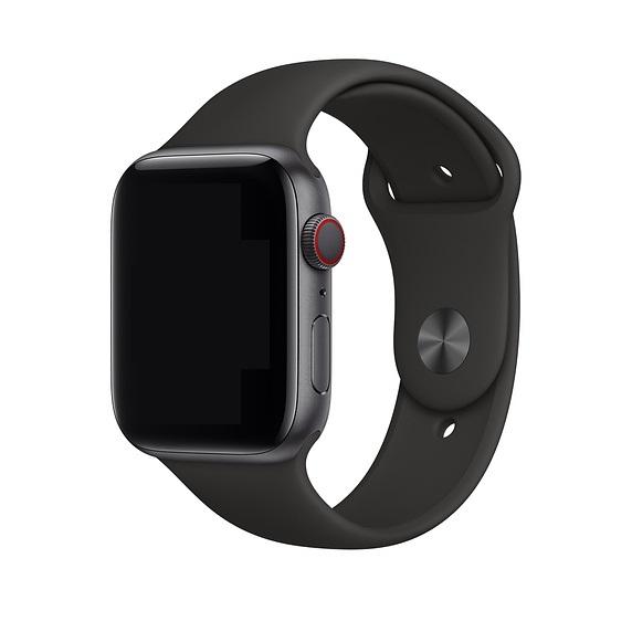 Curea Apple Watch Sport Neagra 38/40mm [1]