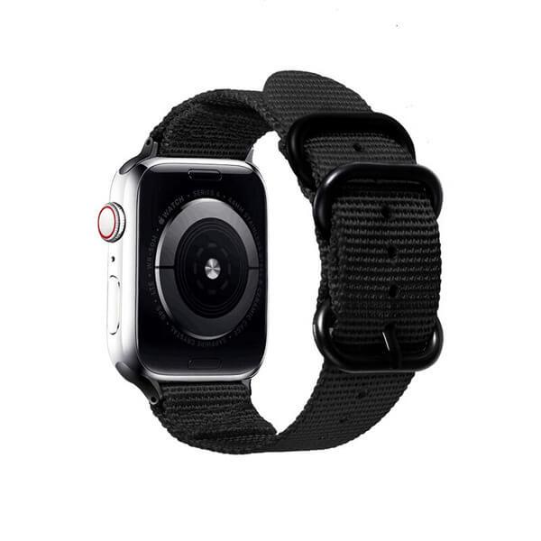 Curea Apple Watch nylon sport neagra 42/44mm [1]