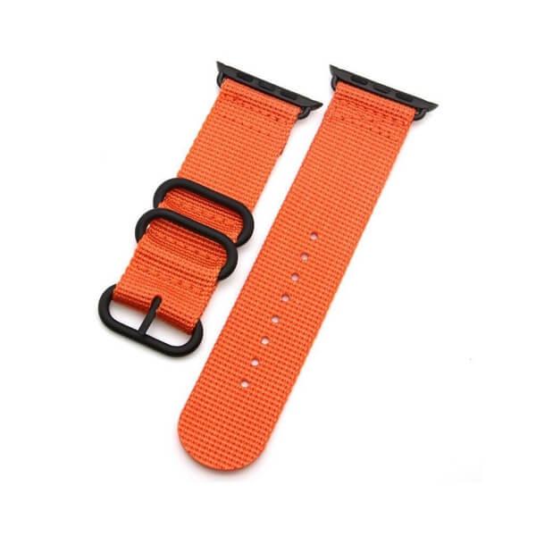 Curea Apple Watch sport nylon portocalie 38/40mm [7]