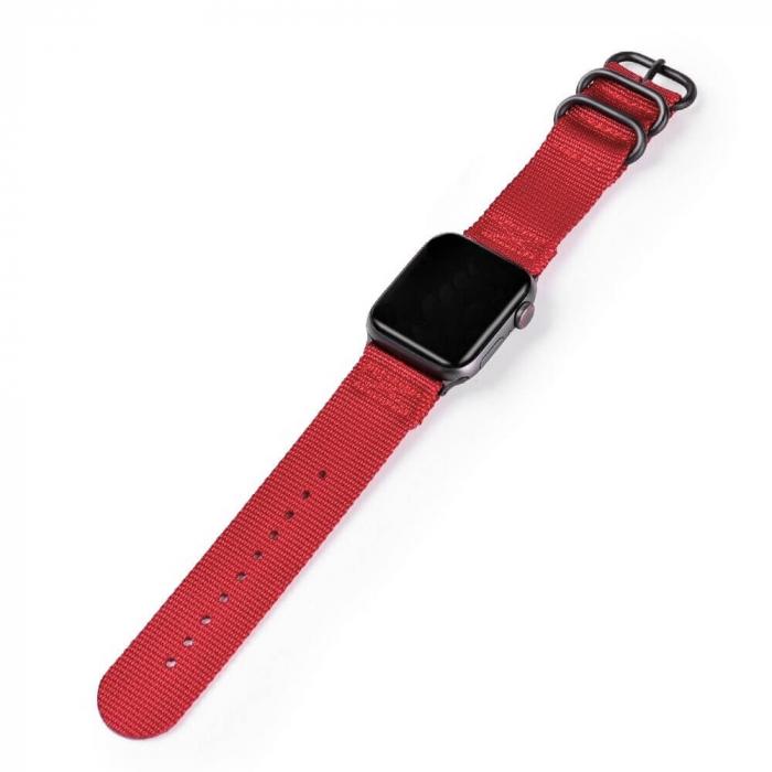 Curea Apple Watch nylon sport rosie 38/40mm [2]
