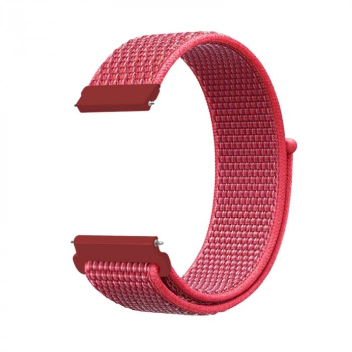 Curea Sport Loop Rose 20mm pentru Huawei Watch GT sau GT2 [0]