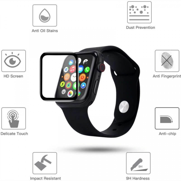 Folie Apple Watch 40mm Full Glue [6]