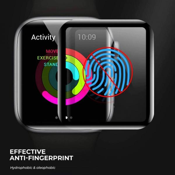 Folie Apple Watch 44mm din sticla curbata [4]
