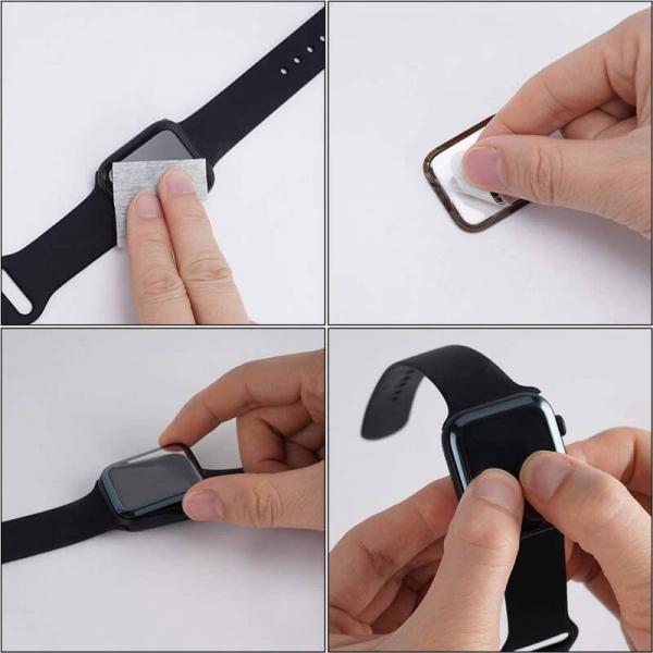 Folie Apple Watch 44mm din sticla curbata [8]