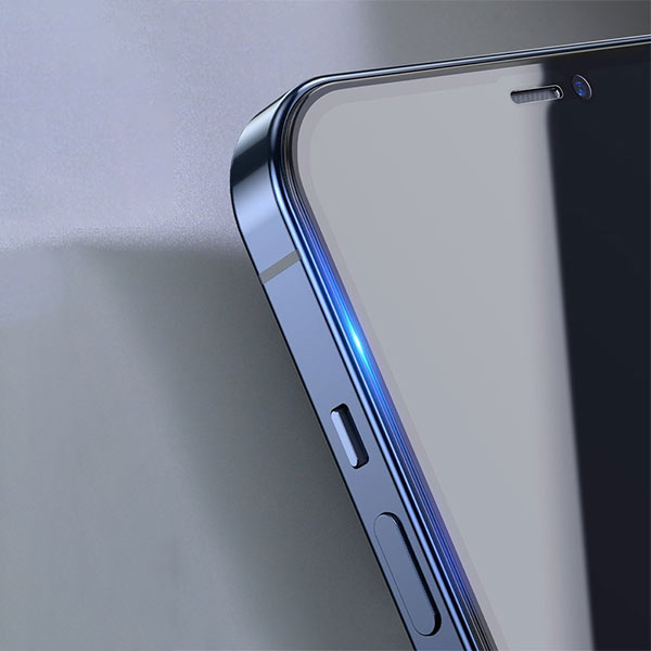 Folie privacy iPhone 12, din sticla securizata [3]