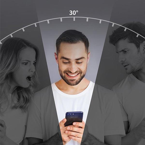 Folie privacy iPhone 12, din sticla securizata [9]